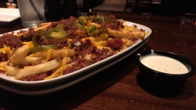 Long Horn chilli cheese fries